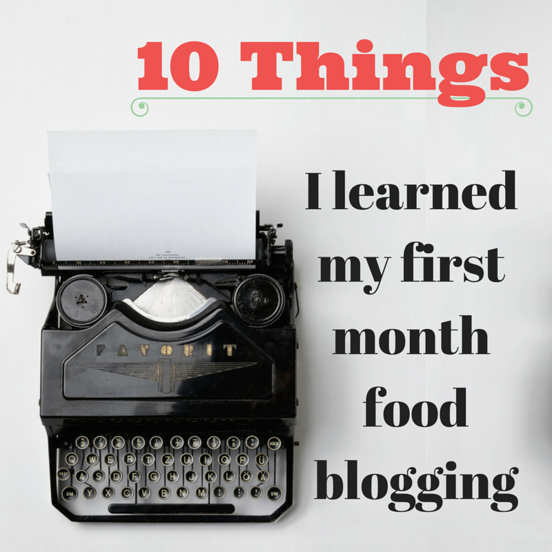 10 Things I've learned in my 1st month