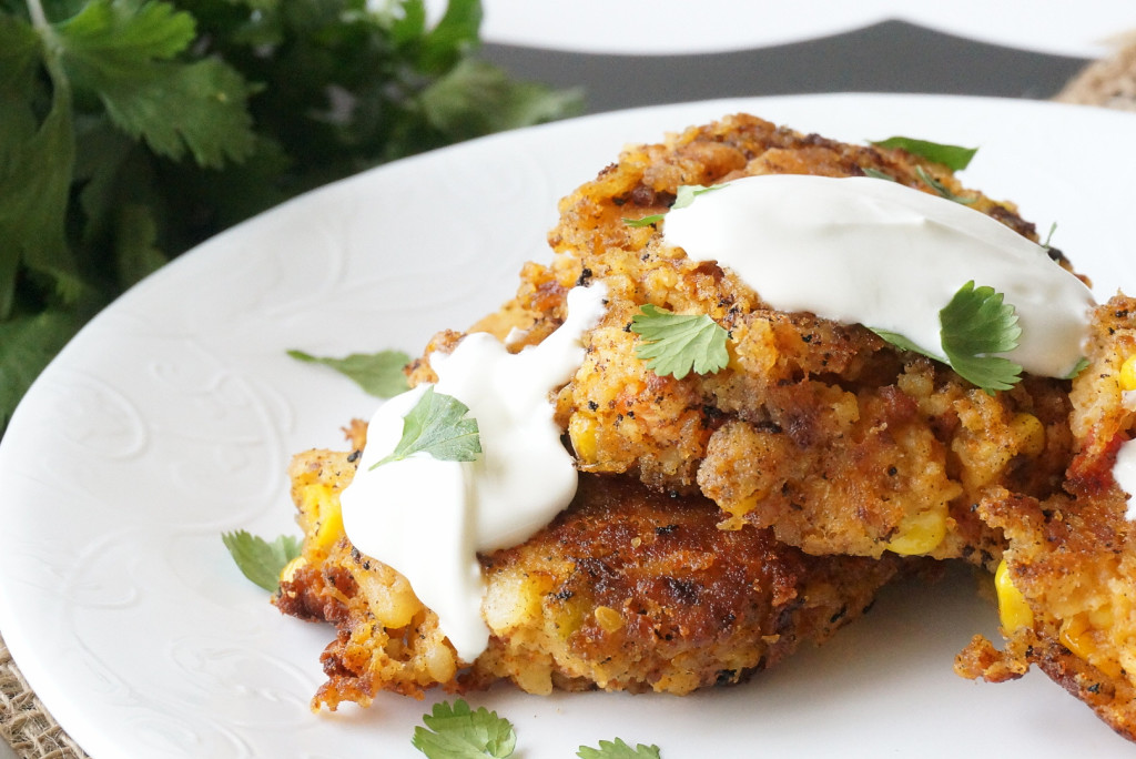 chorizo and chipotle potato cakes