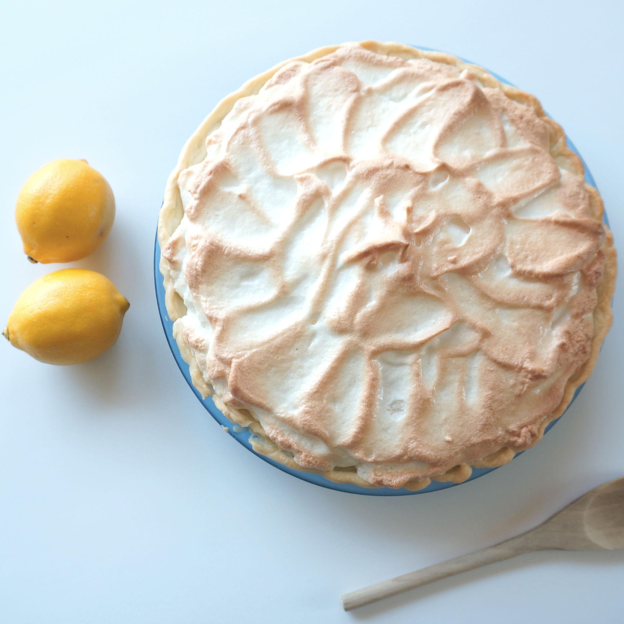 Accidental Cream Pie Awesome rainbow lemon meringue pie| accidental happy baker