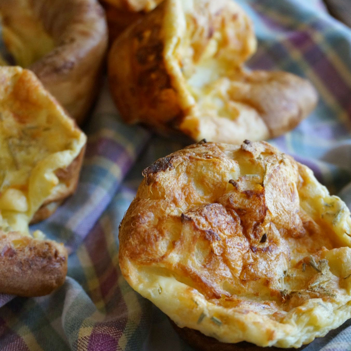 Blue Cheese Popover