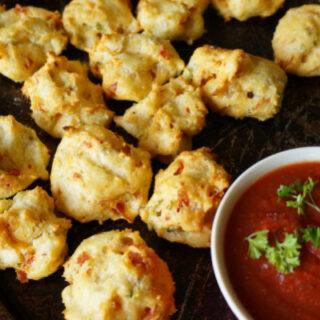 Pepperoni Cheese Puffs