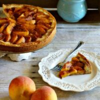Fresh Peach Kuchen
