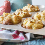 Banana French Toast Muffins