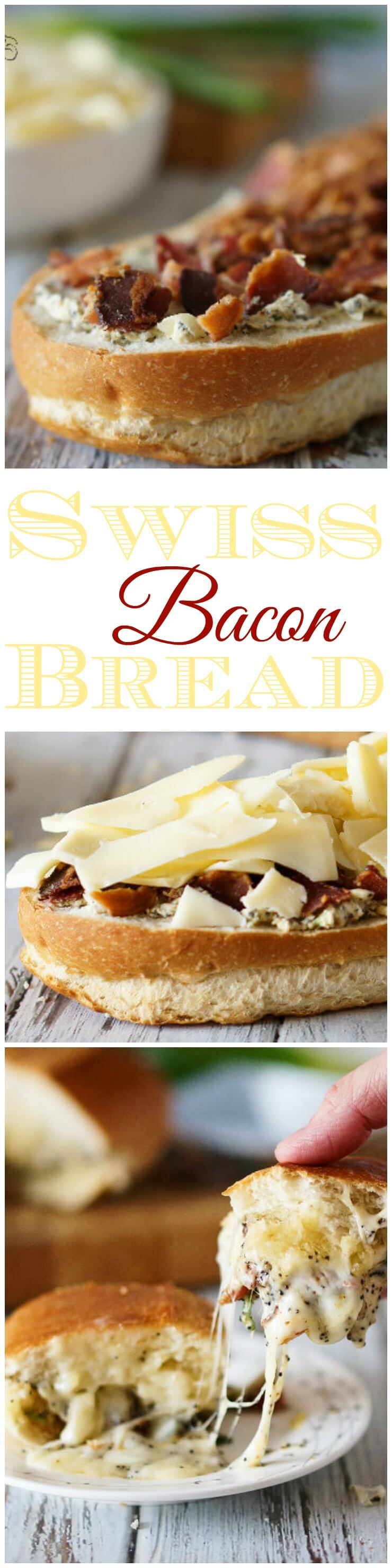 Swiss and Bacon Bread