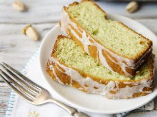 Pistachio Pudding Pound Cake