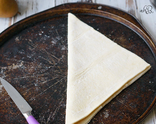 Pear and Plum Galette