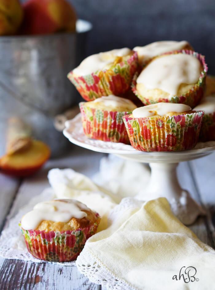 Peaches and Cream Muffins