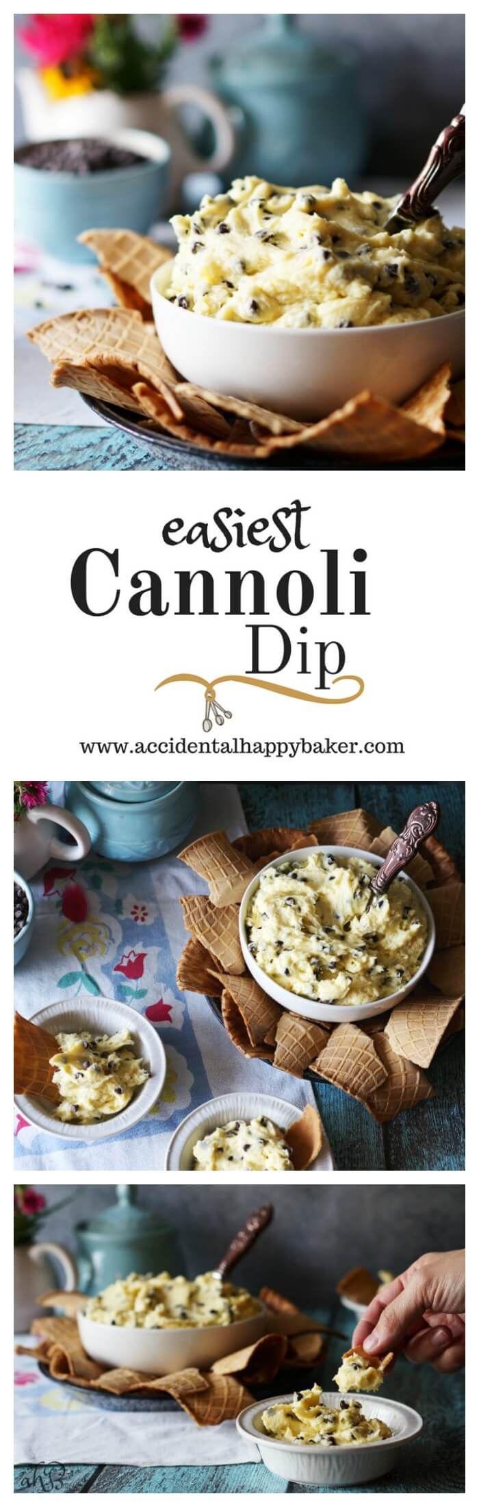 Cannoli Dip,This easy cannoli dip tastes like classic cannoli, goes together in just a few minutes and makes a great gluten free party option.