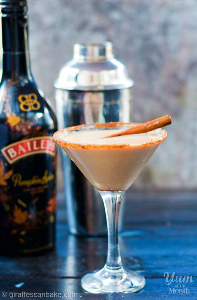 Bailey's Pumpkin Spice Espresso Martini