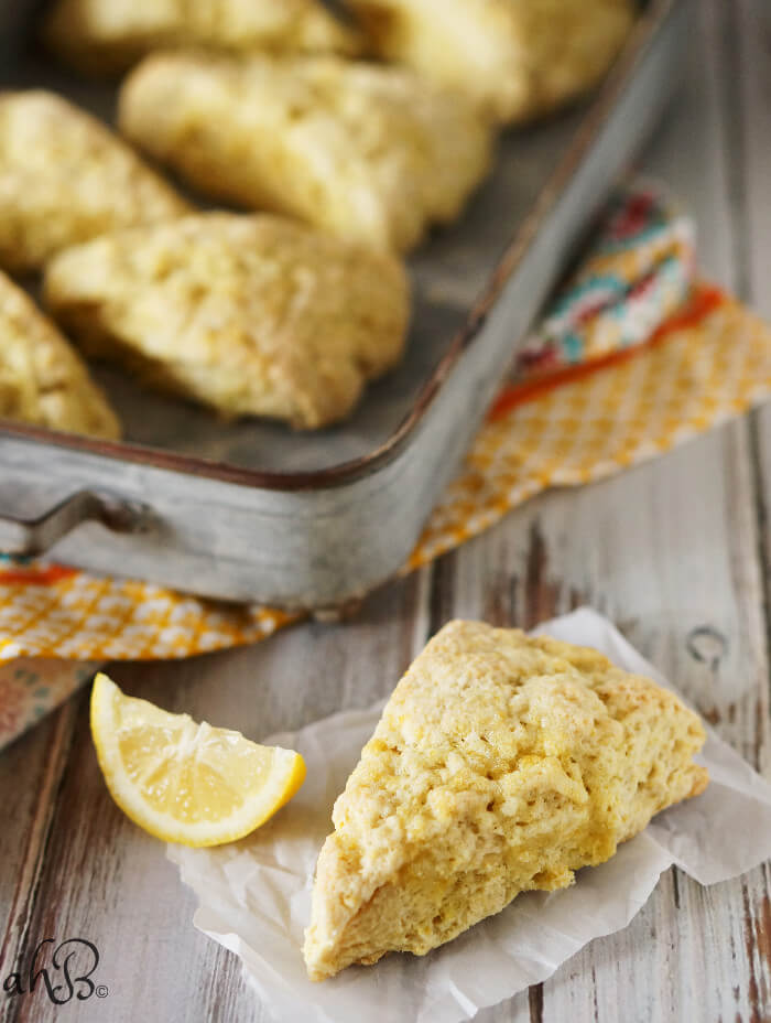 recipe: amazing lemon scones [15]