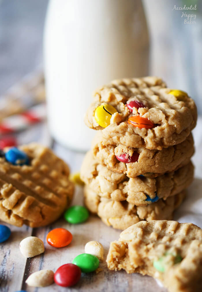 Chunky-PeanutButter-Cookies