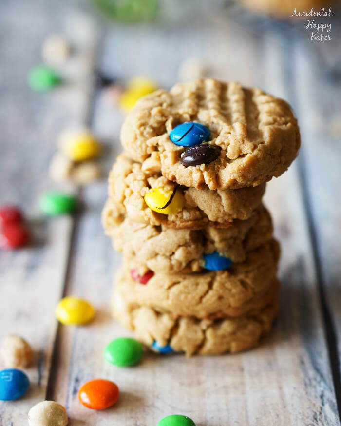 Chunky-Peanut-Butter-Cookies