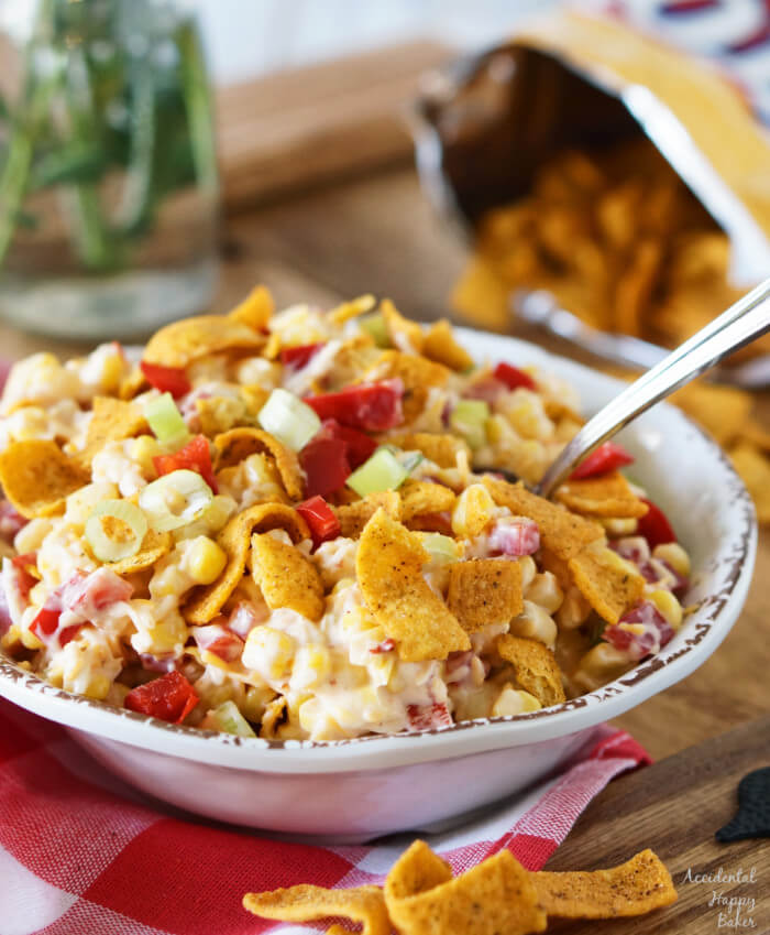 Fritos Chili Cheese Corn Salad