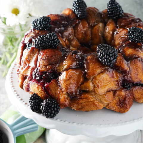 Blackberry Monkey Bread