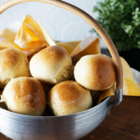Light and fluffy homemade Hawaiian rolls are easy to make at home. Just 4 ingredients!