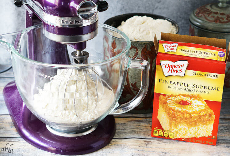 Hawaiian Rolls are easy to make and start in the mixer.