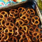 Zesty Italian Seasoned Pretzels