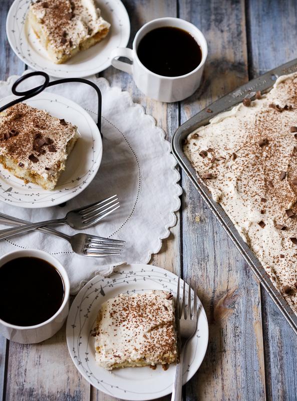 Tiramisu Sheet Cake