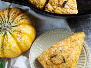 Sweet Potato and Sage Scones