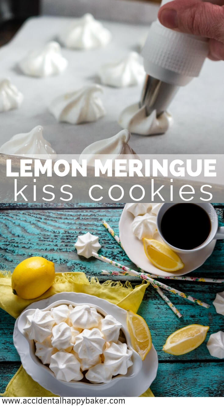 Lemon Meringue Kisses