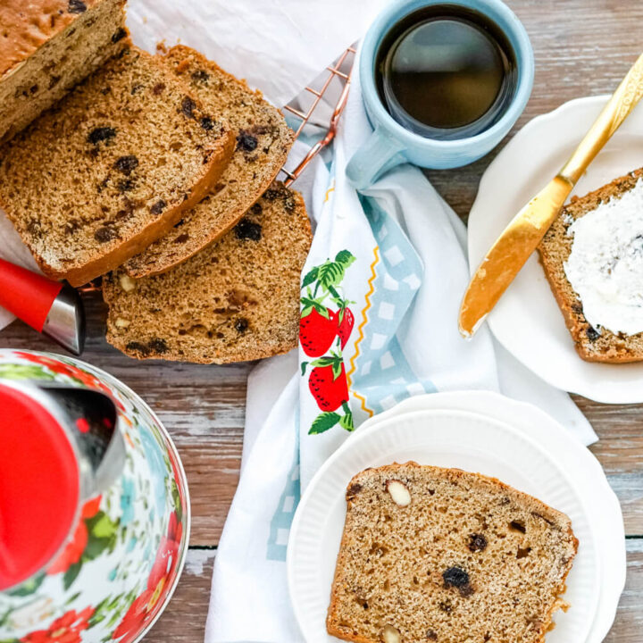 Bara Brith (Welsh Tea Bread)
